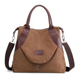 Женская сумка TuLaduo, коричневая 1825