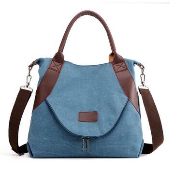 Женская сумка TuLaduo, синяя П1826