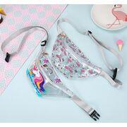 Поясные сумки - Детская сумка на пояс, бананка, Фламинго, П1832