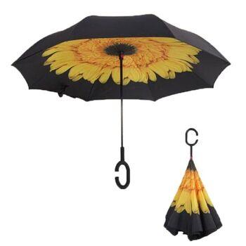 Зонтик, желтый 0087