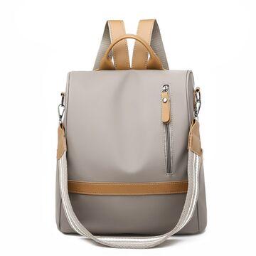 Рюкзак женский, серый П1839