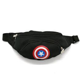"""Поясная сумка для детей, бананка, """"Капитан Америка"""" 1851"""
