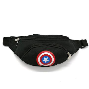 """Поясная сумка для детей, бананка, """"Капитан Америка"""" П1851"""