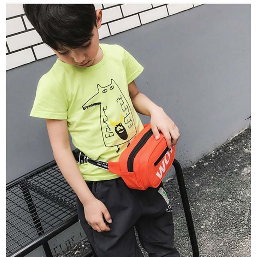 """Поясные сумки - Поясная сумка для детей, бананка, """"WOW"""" П1855"""