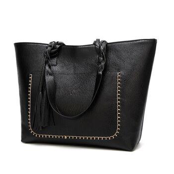 Женская сумка, черная 0089