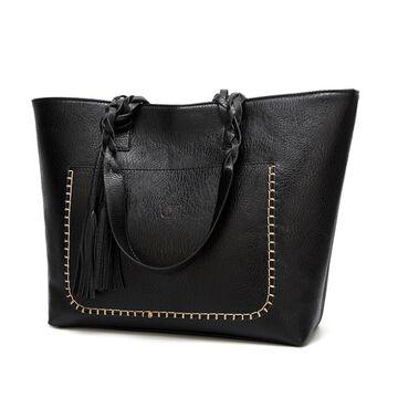 Женская сумка, черная П0089