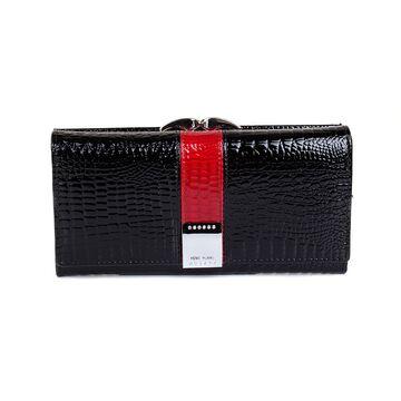Женский кошелек HH, черный П1859
