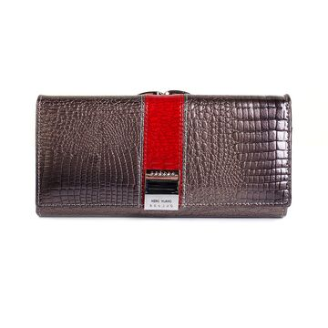 Женский кошелек HH, серый П1860