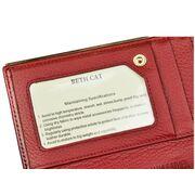 Женские кошельки - Кошелек женский Beth Cat, красный П1864
