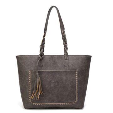 Женская сумка, коричневая П0090