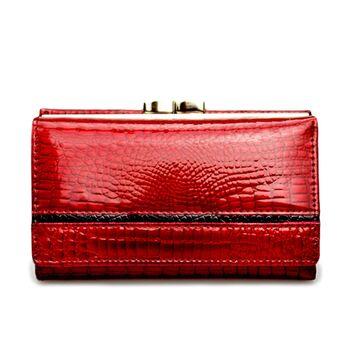Женский кошелек HH, красный П1872