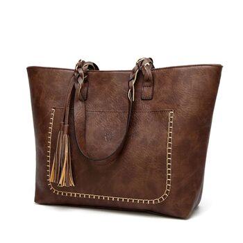 Женская сумка, коричневая П0091
