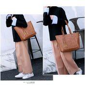 Женские сумки - Женская сумка, коричневая П0091