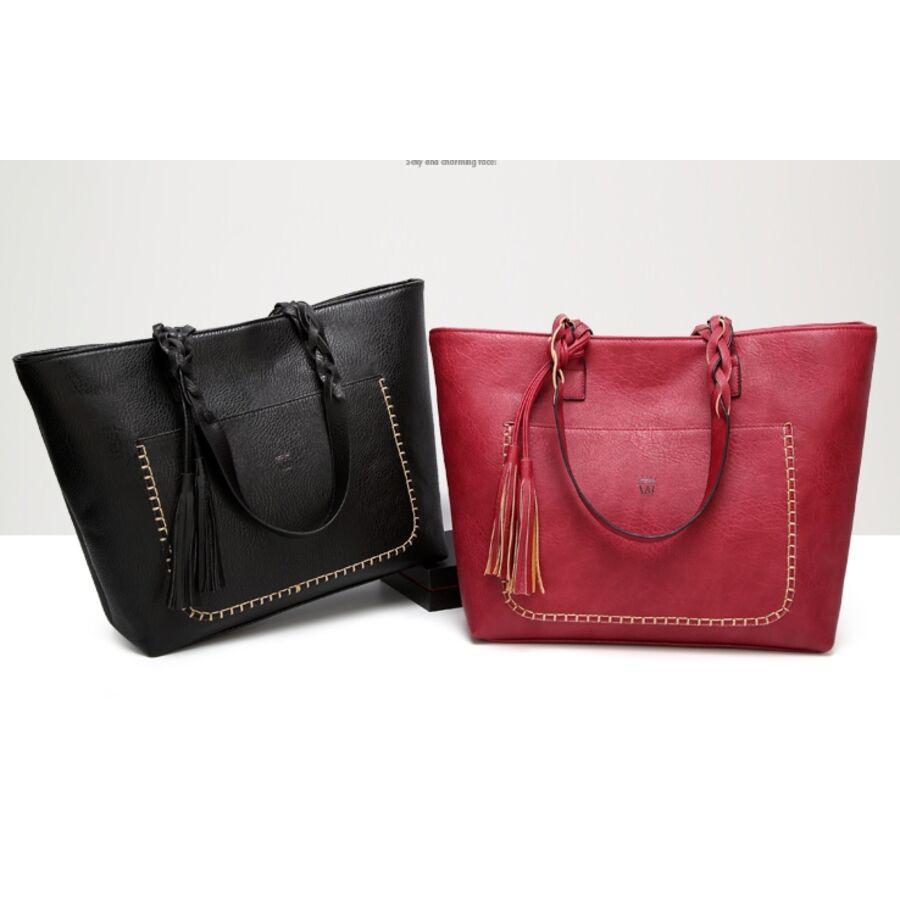 Женские сумки - Женская сумка, коричневая 0091