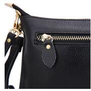 Женская сумка клатч, коричневая П1884