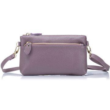 Женская сумка клатч, фиолетовая П1895