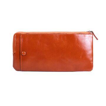 Мужской кошелек DWTS, коричневый П2723