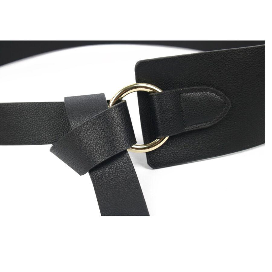 Женские ремни и пояса - Пояс женский, черный П1918