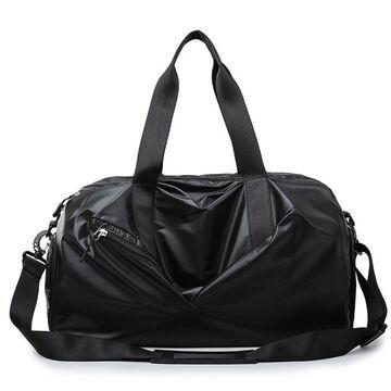 Женская сумка спортивная, черная П1949