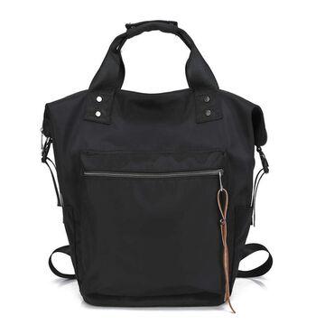 """Женский рюкзак """"TuLaduo"""", черный П1970"""