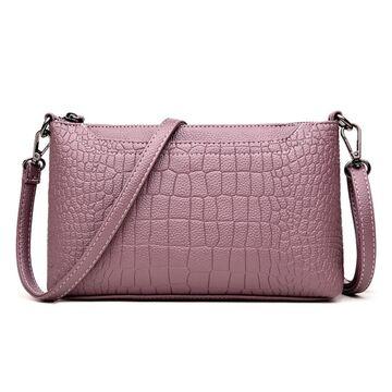 Женская сумка клатч, фиолетовая П1972