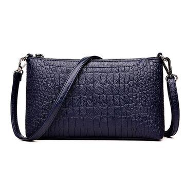 Женская сумка клатч, синяя П1974