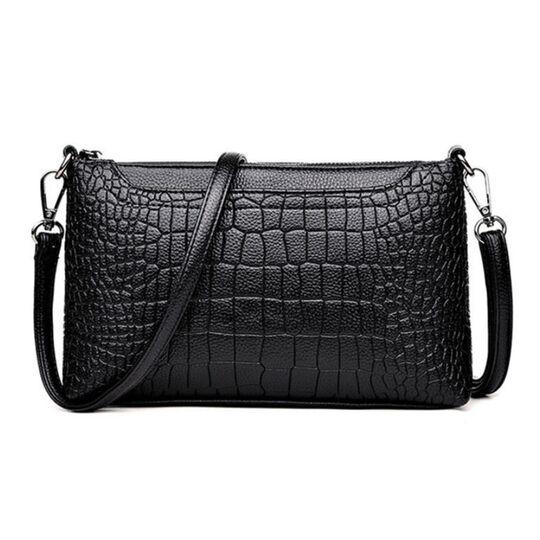 Женская сумка клатч, черная П1976