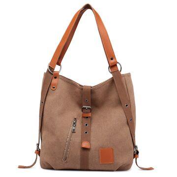 """Женская сумка """"TINKIN"""", коричневая П1997"""