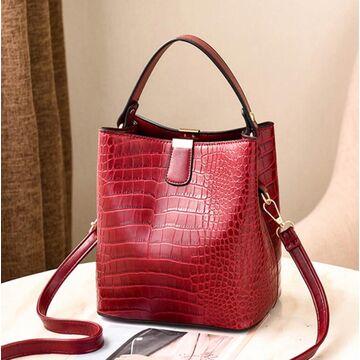 Женская сумка, красная П2007