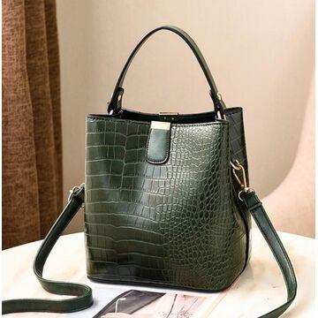 Женская сумка, зеленая П2008