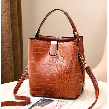 Женская сумка, коричневая 2009