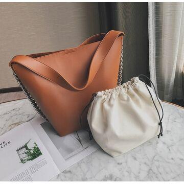 Женская сумка, коричневая П2011