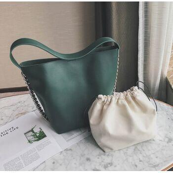 Женская сумка, зеленая П2012