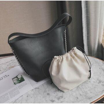 Женская сумка, черная П2013