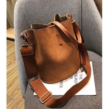 Женская сумка, коричневая П2014