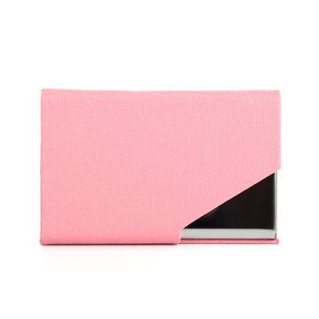 Визитница RFID, розовая П2020