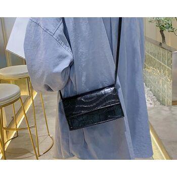 Женская сумка клатч, черная 2023