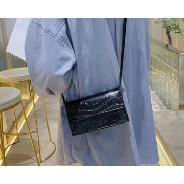 Женская сумка клатч, черная П2023
