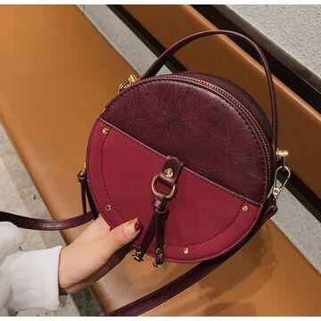 Женская сумка, красная П2027