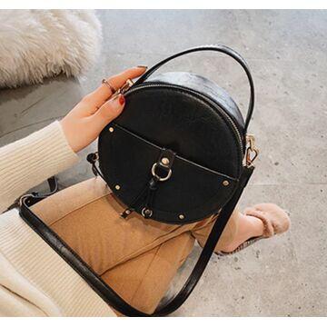 Женская сумка, черная П2029