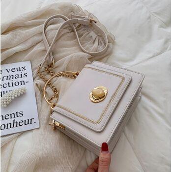 Женская сумка клатч, белая П2033