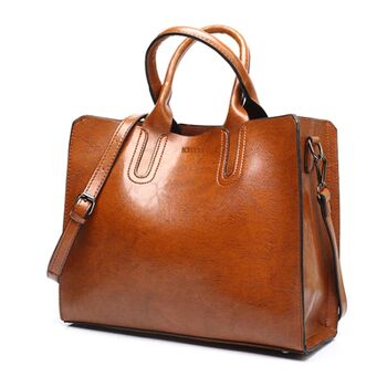 Женская сумка ACELURE, коричневая 0107