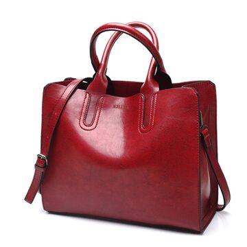 Женская сумка ACELURE, красная П0108