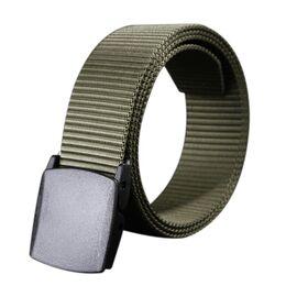 Мужской армейский ремень COWATHER, зеленый 2056
