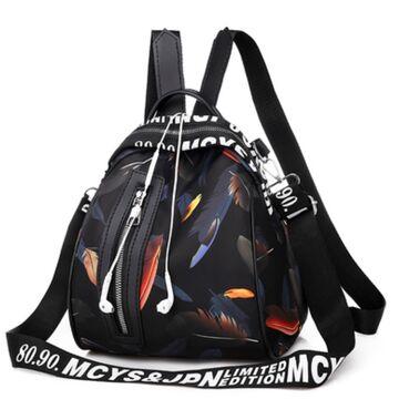 """Женский рюкзак """"OLOEY"""", черный П2060"""