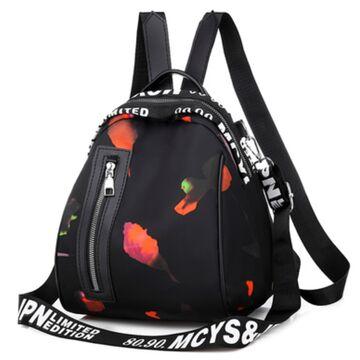 """Женский рюкзак """"OLOEY"""", черный П2061"""