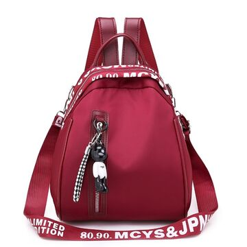 """Женский рюкзак """"OLOEY"""", красный П2062"""