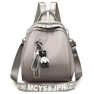 "Женский рюкзак ""OLOEY"", серый П2063"