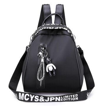 """Женский рюкзак """"OLOEY"""", черный П2065"""
