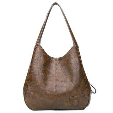 Женская сумка, коричневая П2071